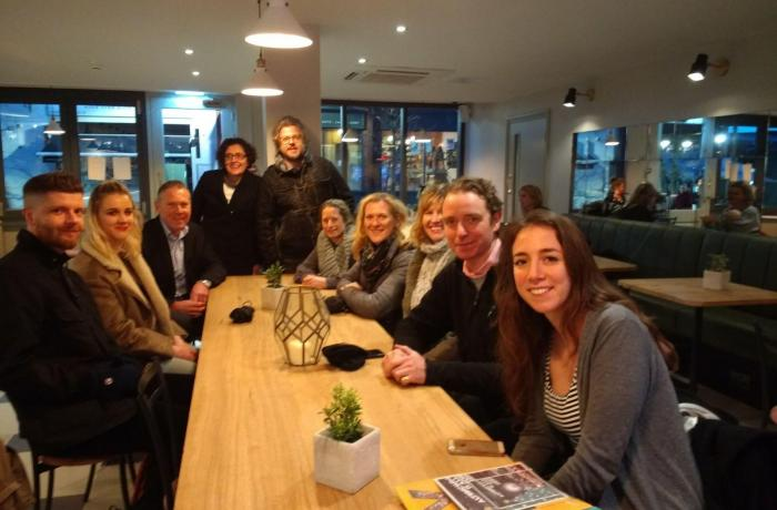IPM students visit Altrincham for 'perfect example' of town transformation