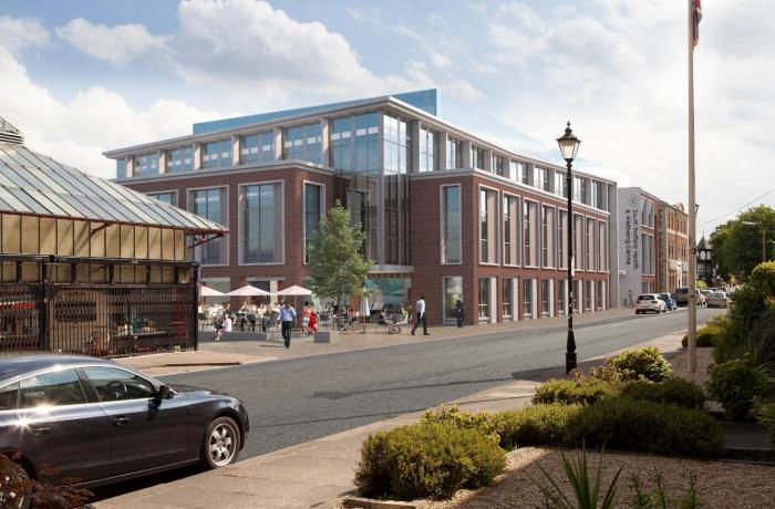 Build to begin this month on new South Trafford Health and Wellbeing Centre