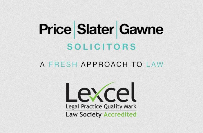 Price Slater Gawne receives Lexcel accreditation