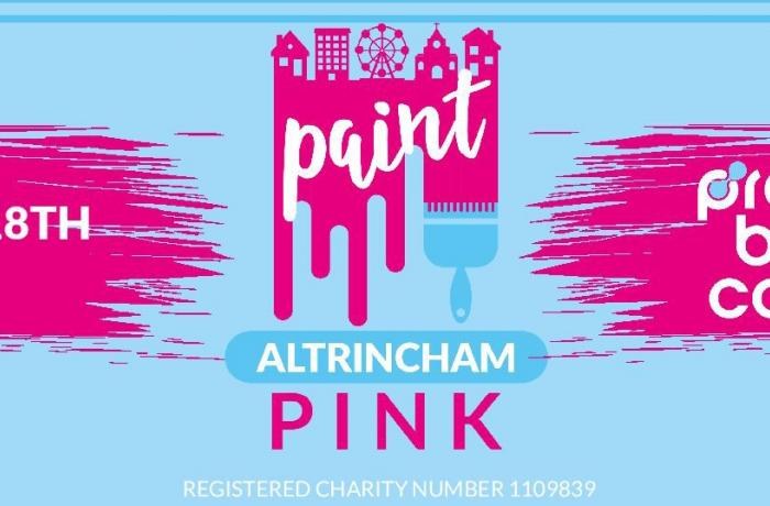 Corrie star calls on Altrincham to paint the town pink!