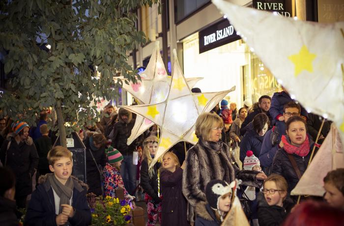 Lantern Parade to bring Christmas sparkle to Altrincham