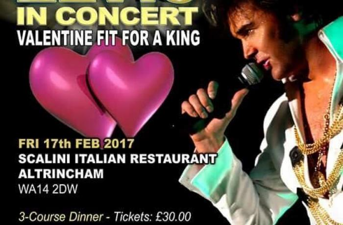 Valentines Fit for a King at Scalini Ristorante