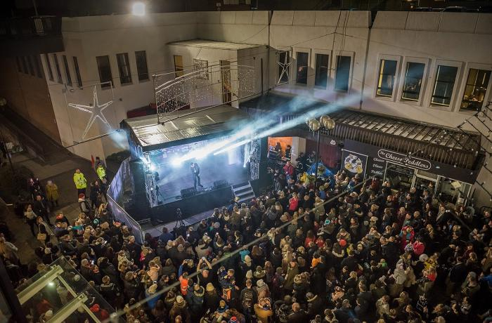 Altrincham Christmas Lights Switch-On