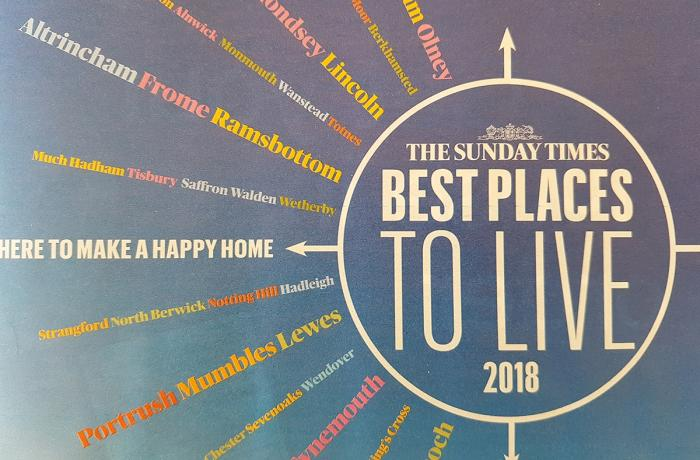 Sunday Times names Altrincham 'Best place to live in North West'