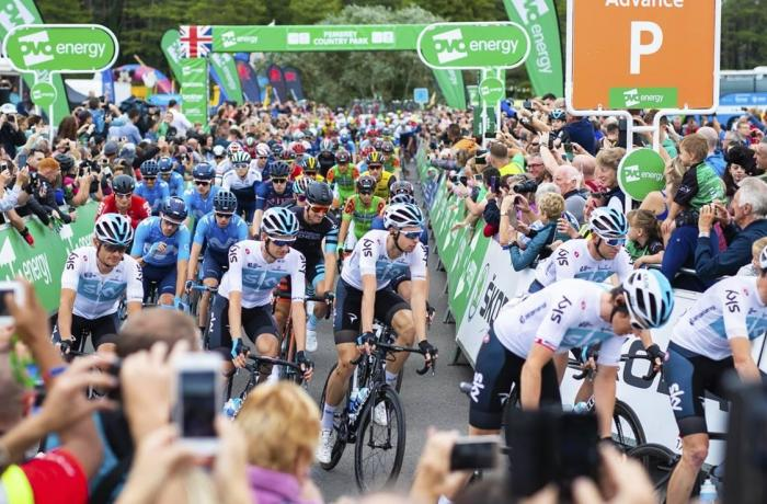OVO Energy Tour Of Britain comes to Altrincham