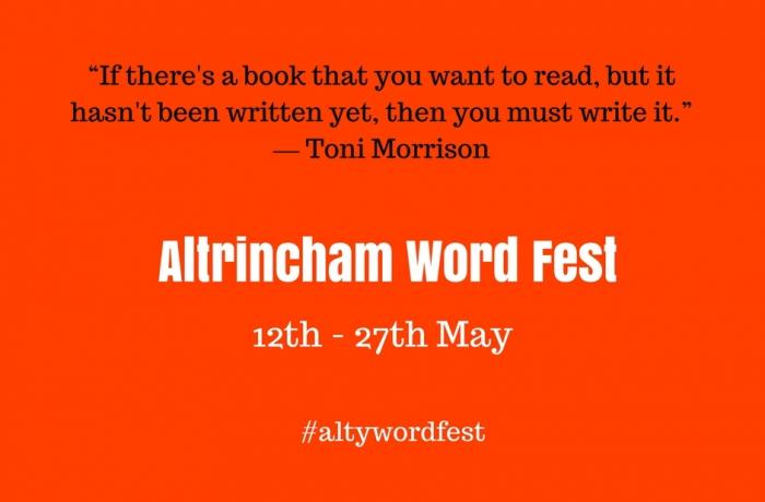 Get creative with Altrincham Word Fest - coming soon!