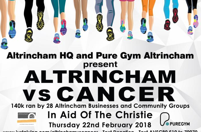 Altrincham VS Cancer 2018