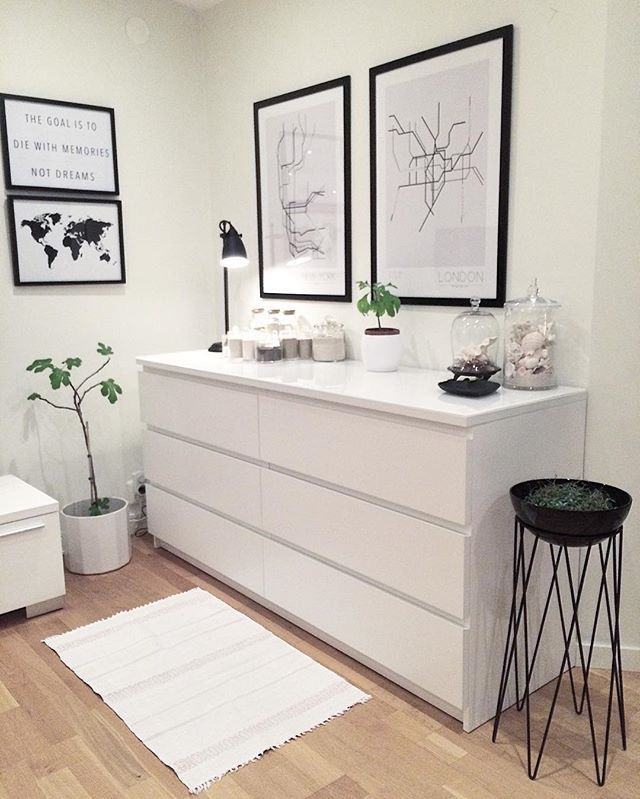 deco c moda malm always white blog decoraci n always. Black Bedroom Furniture Sets. Home Design Ideas