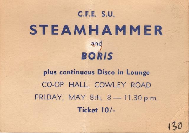 steamhammer 1970
