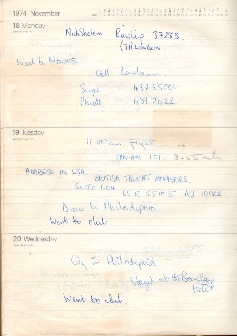 November 18th 1974