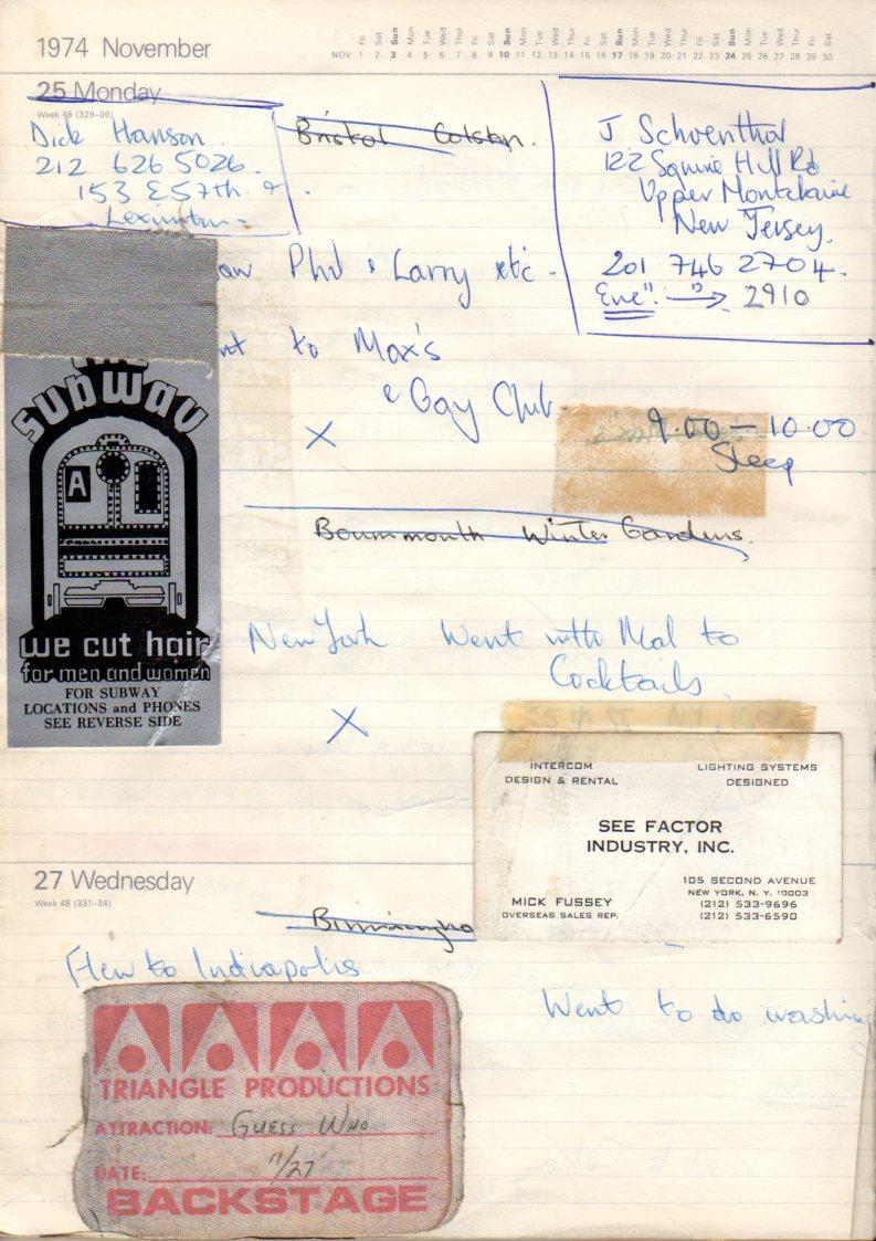 November 25th 1974