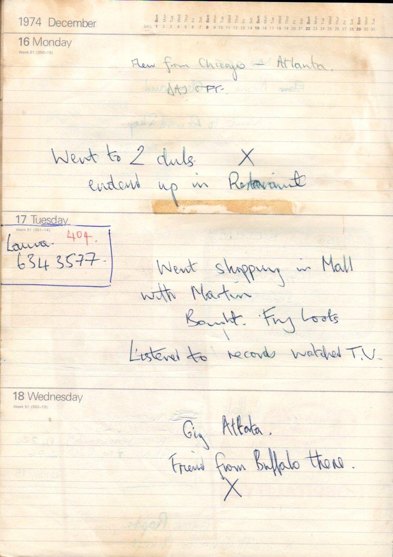 December 16th 1974