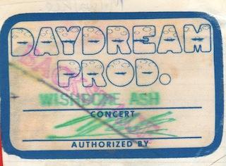 Wishbone tour pass Daydream