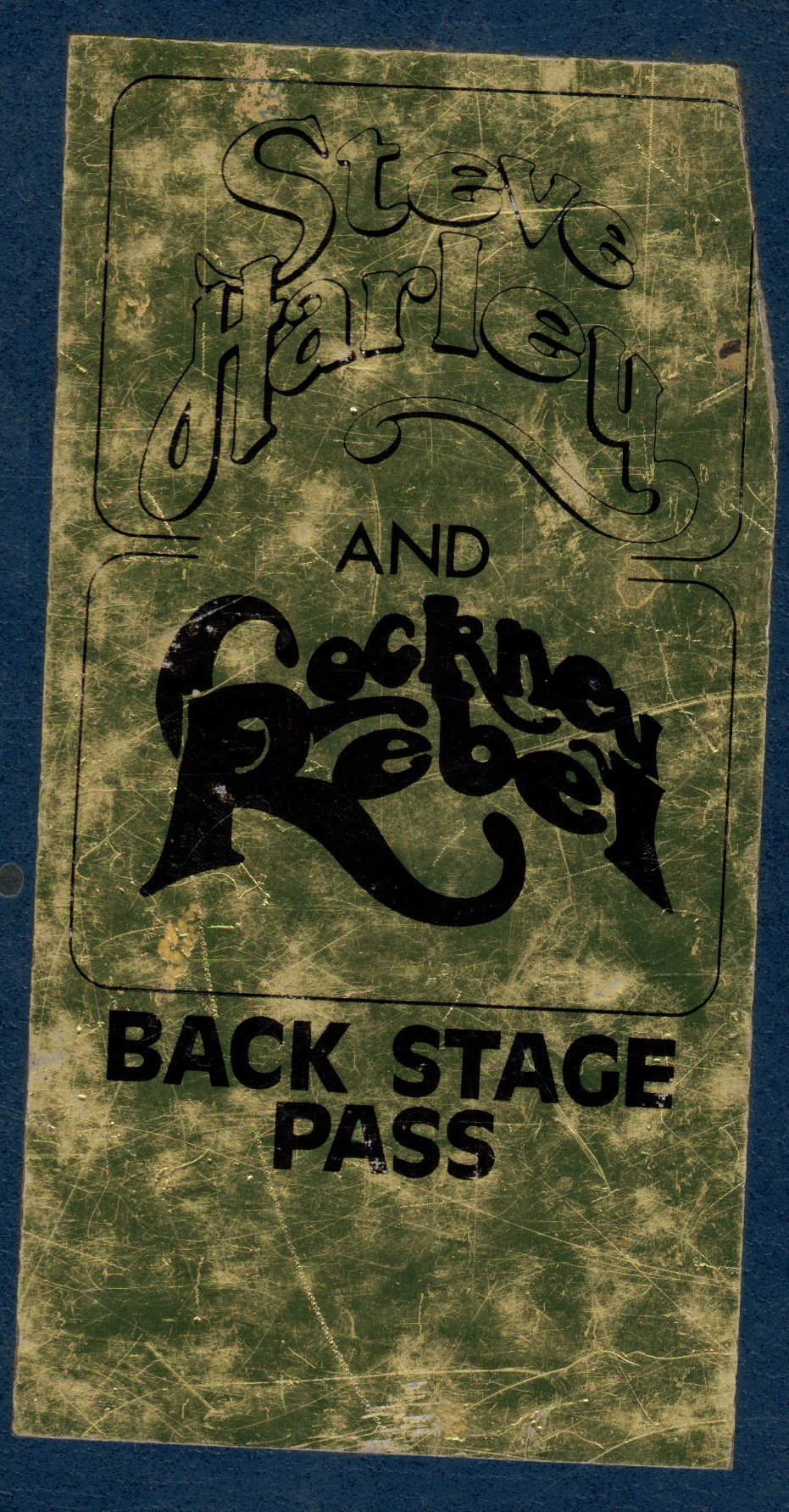 tour backstage pass 75