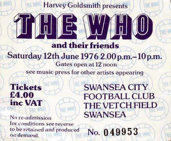 swansea ticket 76