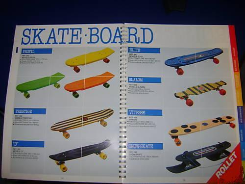 skateboard catalogue