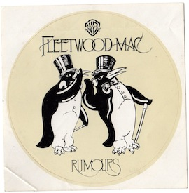 rumours sticker