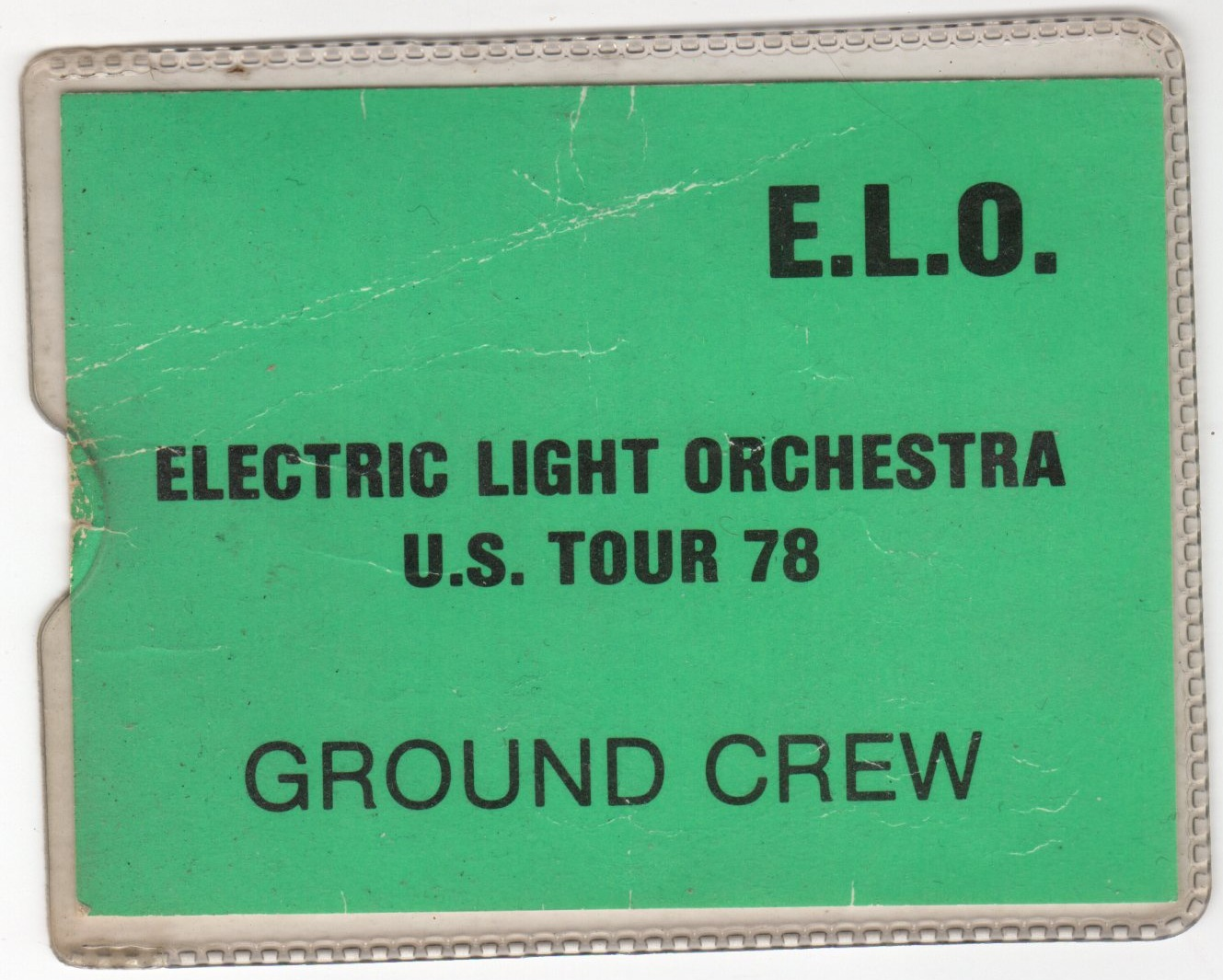 the elo us 78 tour pass
