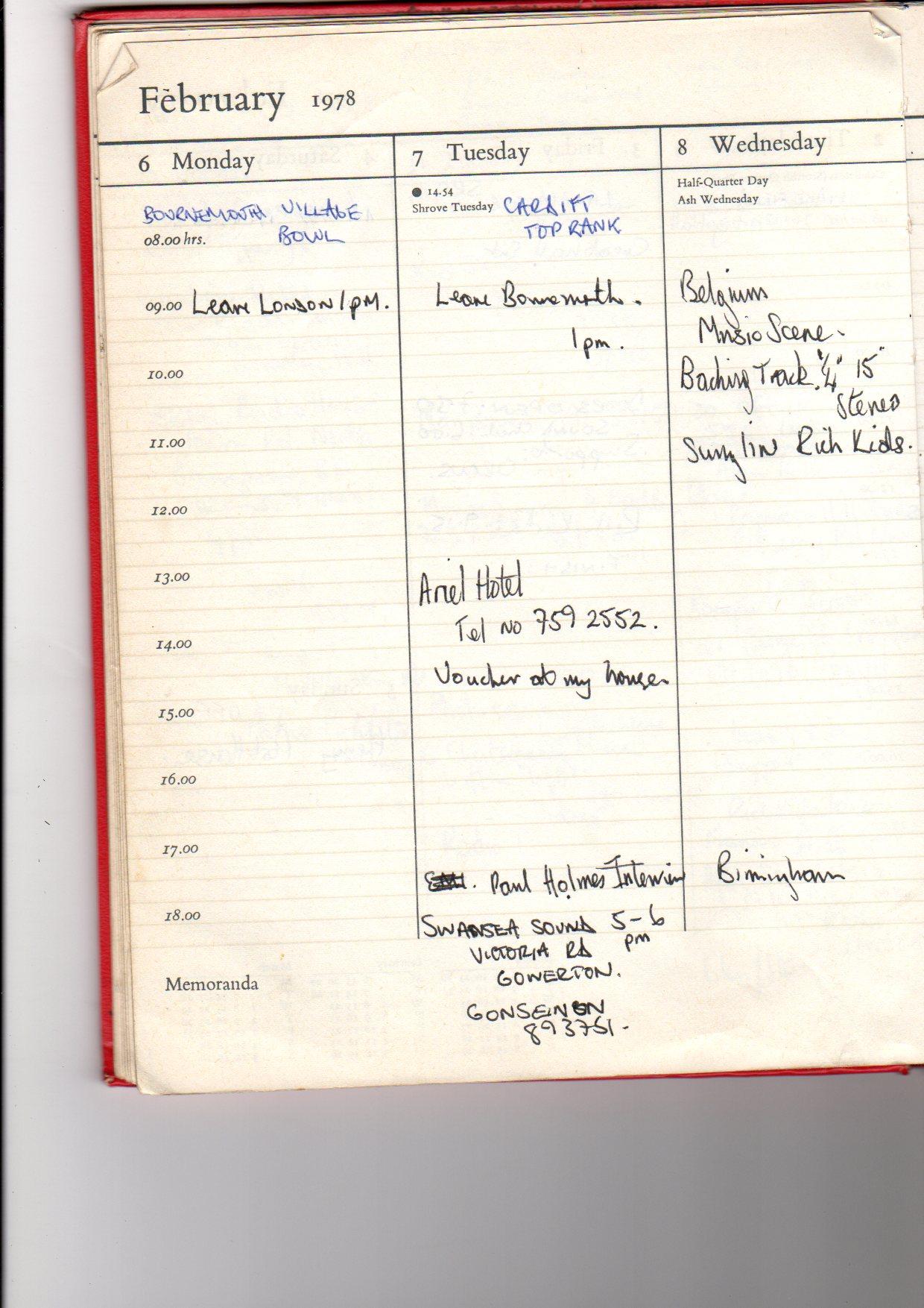 january diary 78