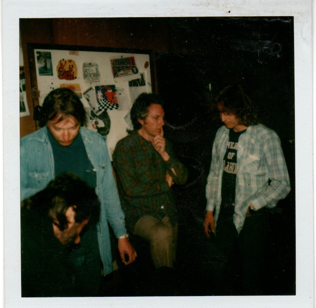 alan trist with richard loren in san fran office 78