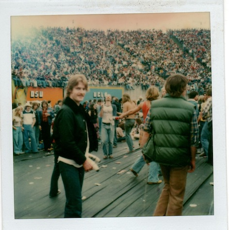 Eugene Oregon with Dick Hayes 1978 The Grateful Dead