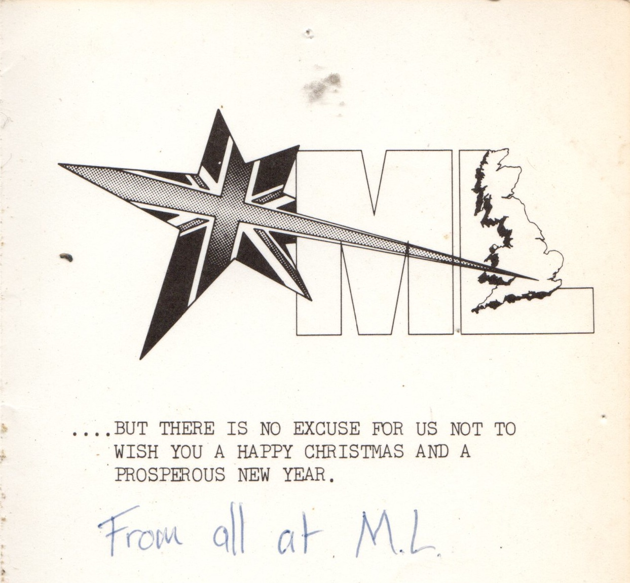 Ml Executives Christmas card