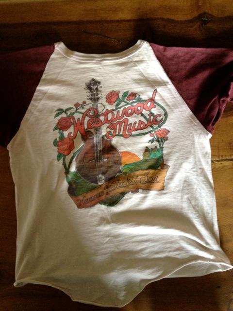 westwood music t-shirt