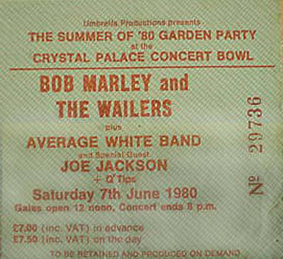 Crystal Palace 80 ticket