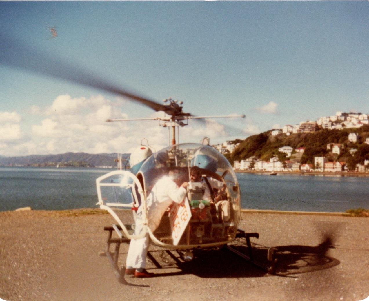 Wellington helicopter