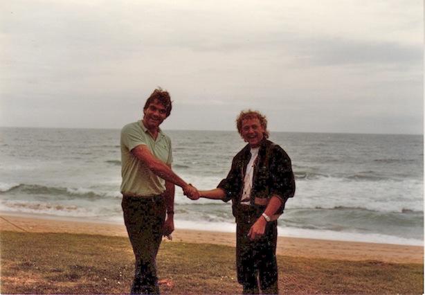 grant and myself sydney 83