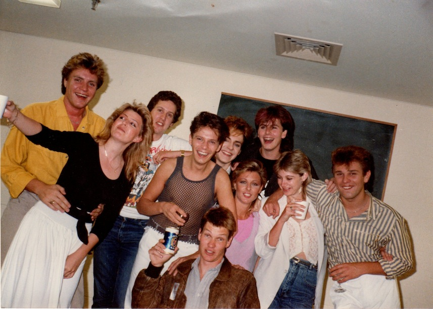EMI sydney promotion department 1983
