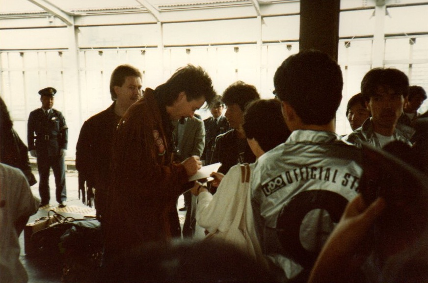 PY at train station in Japan 85