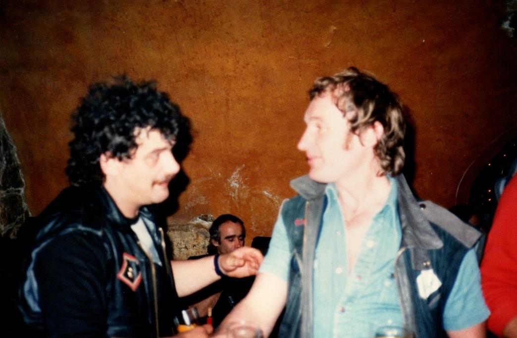 Micky Curtis and John Rivett