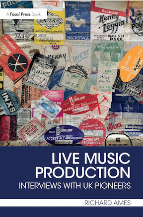 Live Music Production front cover