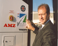 Toekenning van het nieuwe Keurmerk in 2001