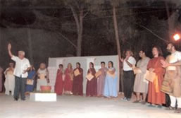 OEDIPUS REX curtain call