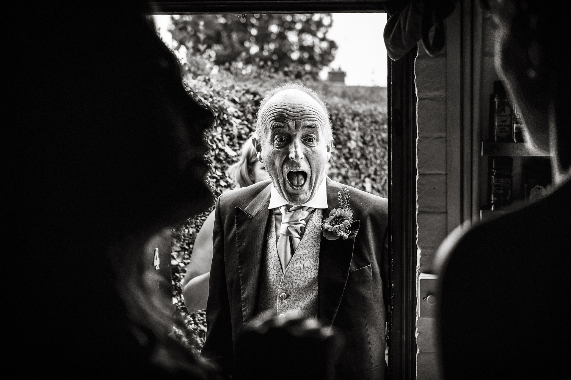 Candid relaxed documentary wedding photography UK