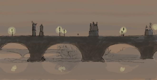 3736-still_life_with_animated_dogs_charle_s_bridge