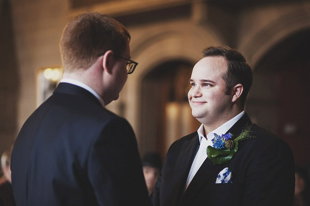 Manchester Town Hall wedding photographer 011
