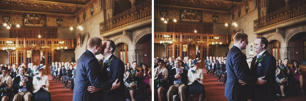Manchester Town Hall wedding photographer 014
