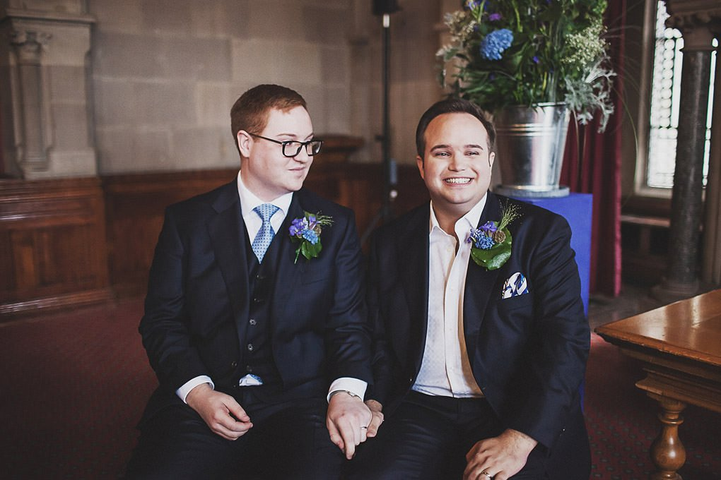 Manchester Town Hall wedding photographer 017
