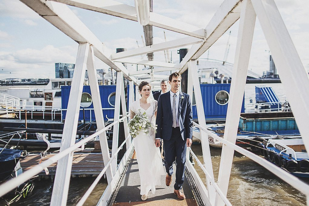 London wedding photographer Trinity Buoy Wharf 093