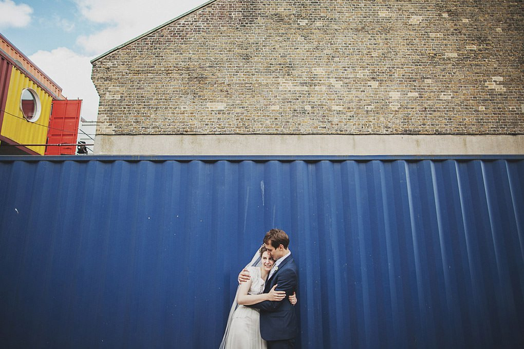 London wedding photographer Trinity Buoy Wharf 094