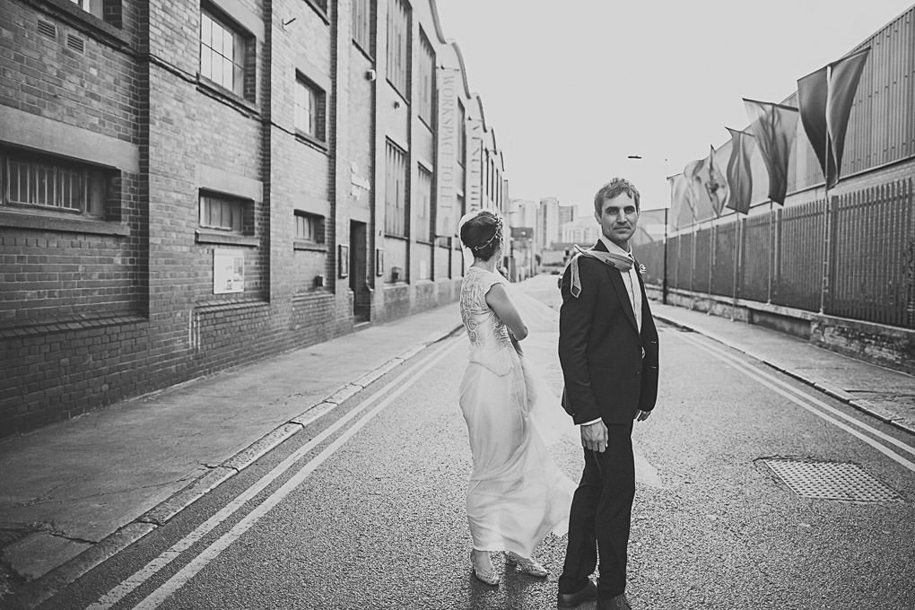 London wedding photographer Trinity Buoy Wharf 104