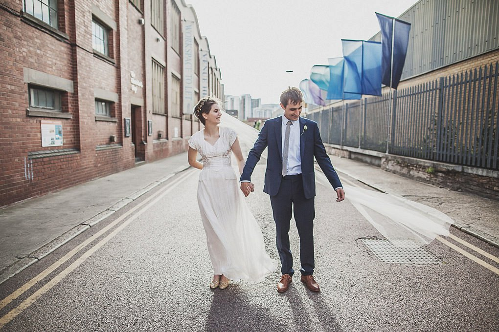 London wedding photographer Trinity Buoy Wharf 105