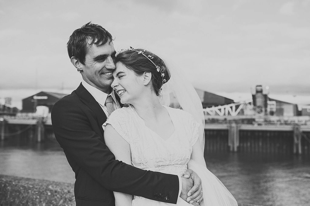 London wedding photographer Trinity Buoy Wharf 116