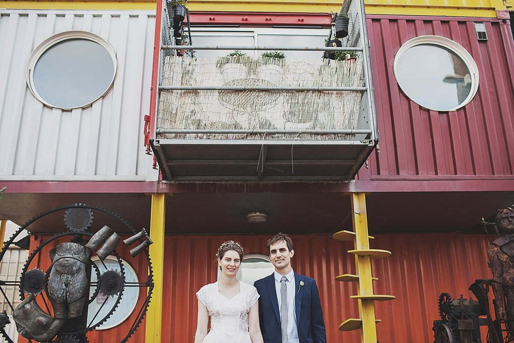 London wedding photographer Trinity Buoy Wharf 119