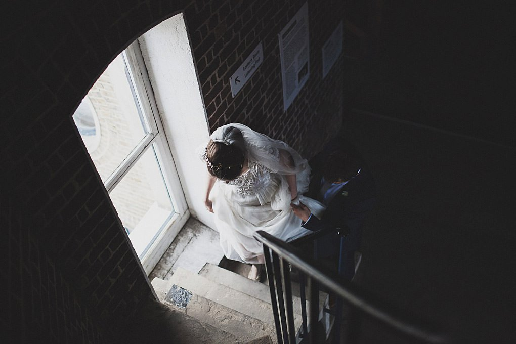 London wedding photographer Trinity Buoy Wharf 120