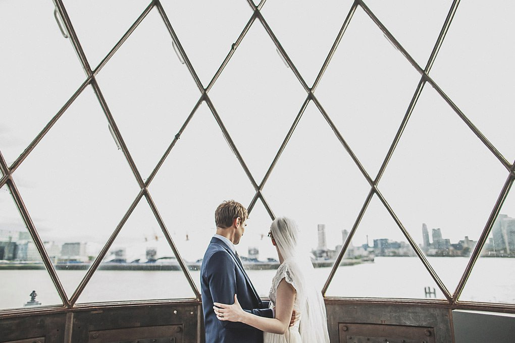 London wedding photographer Trinity Buoy Wharf 121