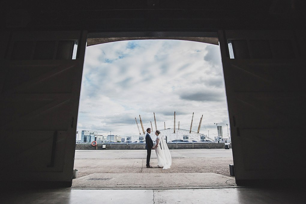 London wedding photographer Trinity Buoy Wharf 126